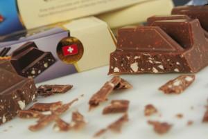 Schweizer Schokolade ist ein qualitativ hochwertiges Produkt.